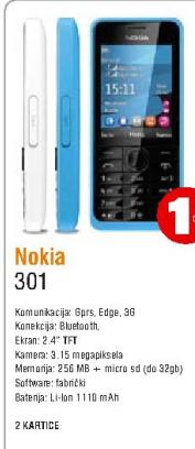 Telefon mobilni Asha 301