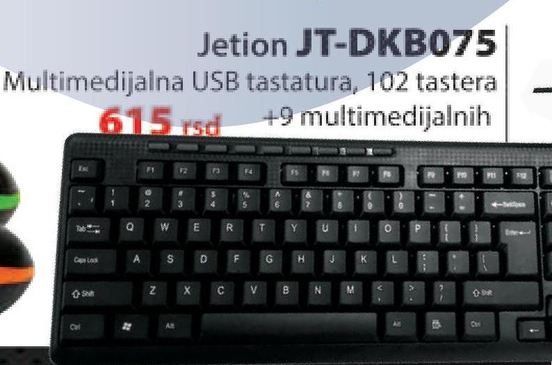 Tastatura JT-DKB075