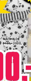 Set posteljine MATHILDE