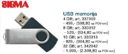 Usb memorija 16Gb