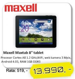 """Tablet Maxtab 8"""""""