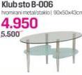 Klub sto B-006