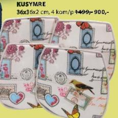 Jastuci za stolice Kusymre