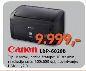 LBP-6020B laserski štampač