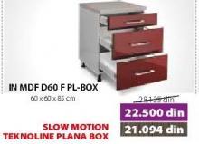 Kuhinjski element In Mdf D60f Pl-Box Bordo sjaj