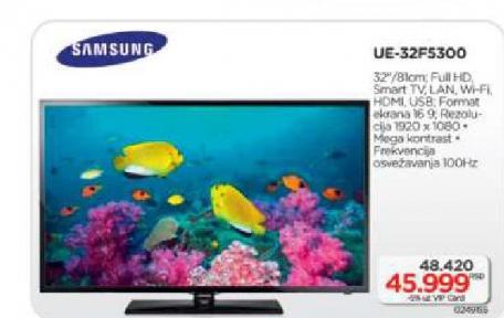 Televizor Smart LED UE32F5300
