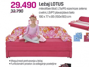 Ležaj Lotus