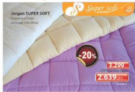 Jorgan Super Soft
