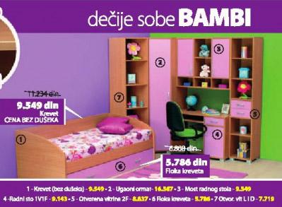 Krevet BAMBI
