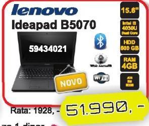 Laptop IdeaPad B5070
