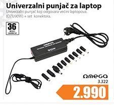 Univerzalni punjač OZU90W za laptop
