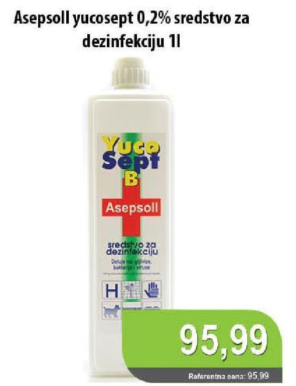 Sredstvo za dezinfekciju Asepsol