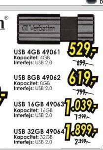 USB flash 16GB 49063
