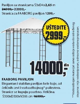 Stranica za paviljon Faaborg