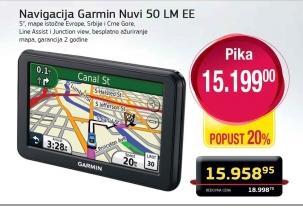 Navigacija Garmin Nuvi 50Lm Ee