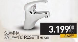 Slavina za lavabo Mt6301