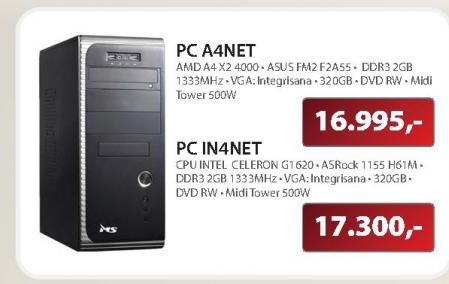 Desktop računar MSGW PC IN4NET