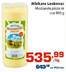Mozzarella sir