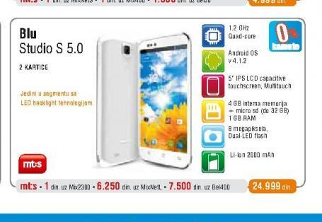 Mobilni telefon Studio 5.0 S