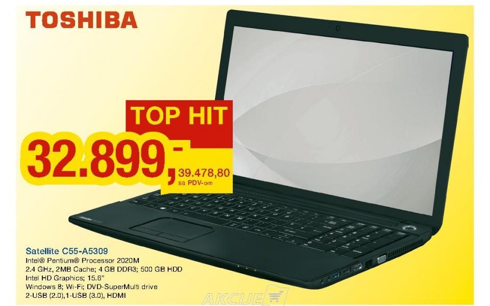 Laptop Satellite C55-A5309