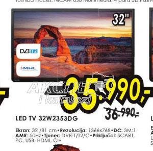 Televizor LED LCD 32W2353DG