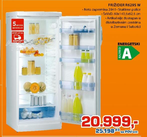 Frižider R 6295 W