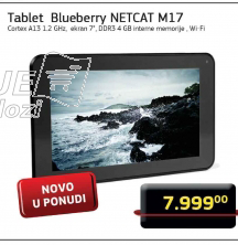 Tablet Blueberry NETCAT M17