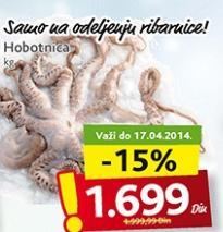 Smrznuta hobotnica