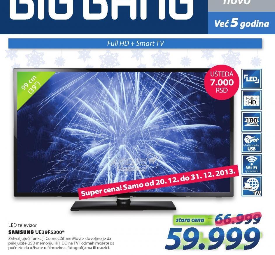 LED Televizor UE39F5300