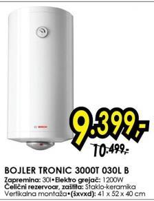 Bojler Tonic 3000t 030l B