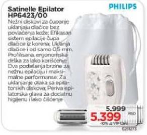 Satinelle Epilator Hp6423/00