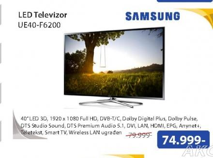 Televizor LED UE40-F6200