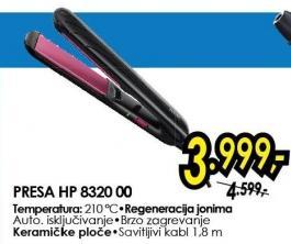 Presa za kosu HP8320