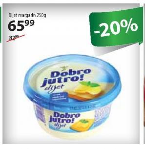 Margarin za mazanje dijet