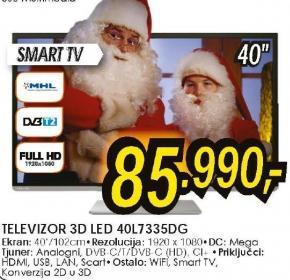 Televizor LED LCD 40L7335DG