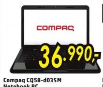 HP Compaq Presario CQ58-d03SM