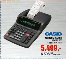 Računarska mašina  Casio DR-320 TEC
