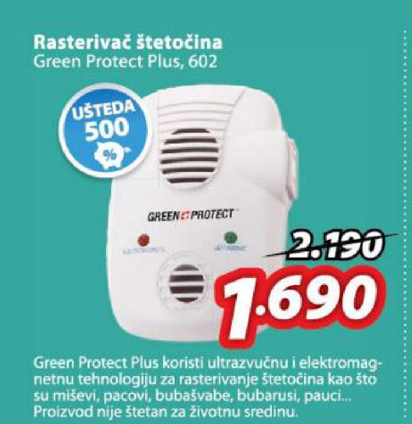 Rasterivač štetočina Green Protect Plus 602