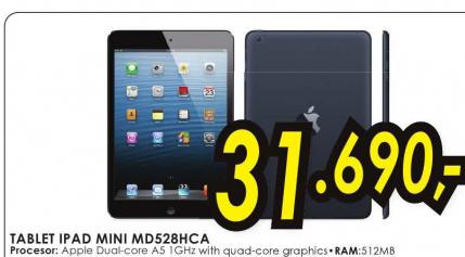 Tablet iPad Mini MD528HC