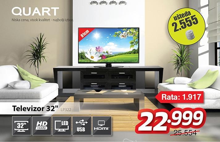 """Televizor TV 32"""" LED LP322"""