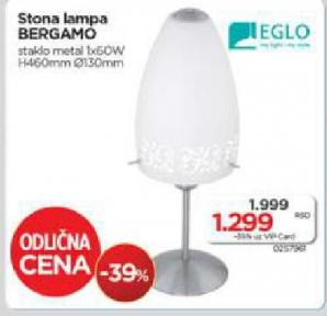 Stona lampa Bergamo