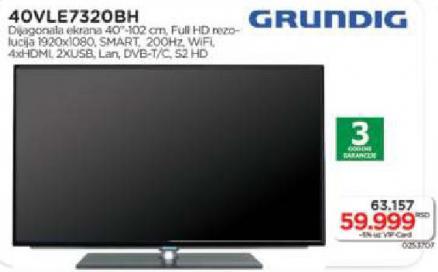 Televizor LED 40 VLE 7320 BH