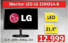 """Monitor LED 21,5"""" 22m35a-b"""