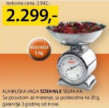 Kuhinjska vaga Silvia Ka