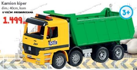 Igračka kamion kiper