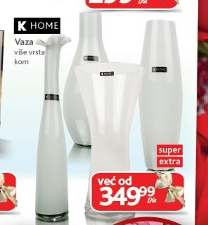 K home vaza