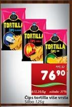 Čips Tortilla chilli