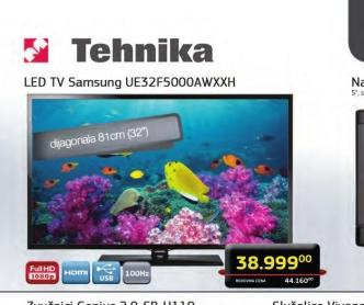 Televizor LED UE-32F5000