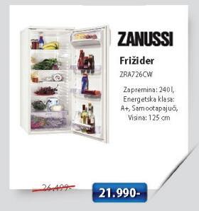 Frižider Zra726Cw