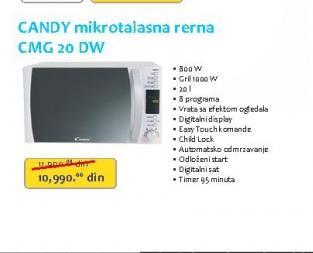 Mikrotalasna rerna CMG20DW